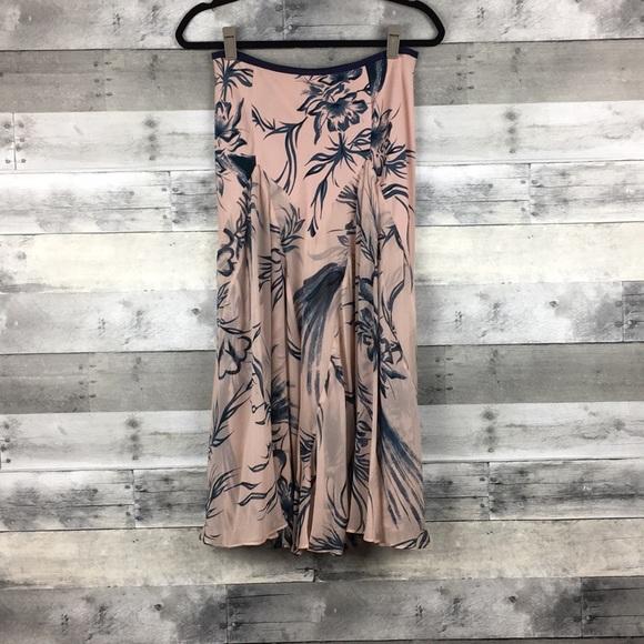 2e14f8fe8b1ef Diane Von Furstenberg Skirts | Silk Print Skirt | Poshmark